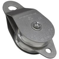 Portable Winch Co. PCA-1273 Stainless Steel Double Swing Side Snatch Block
