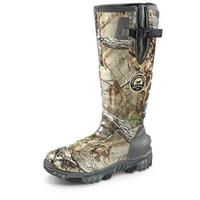 Irish Setter Men's 2.0 800 gram PrimaLoft Gold Insulation Rutmaster Rubber Hunting Boots, Realtree Xtra