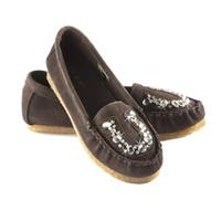 Women's Roper Jeweled Moccasins, Brown