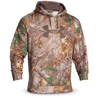 Under Armour Men's Camo Big Logo Fleece Hoodie, Realtree Xtra
