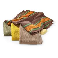 4 Reproduction East German Military-style Towels