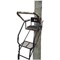 X-Stand 20' Hunting Ladder Stand • Double-rail construction for superior strength