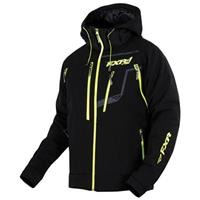 FXR Vertical Pro Waterproof Insulated Softshell Jacket, Black / Hivis