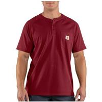 2-Pk. Carhartt Force Short-sleeved Henley Work Shirts