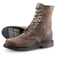 Justin Men's Dark Mountain Lace-up Work Boots, Brown