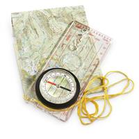 4 Red Rock Outdoor Gear Deluxe Map Compasses