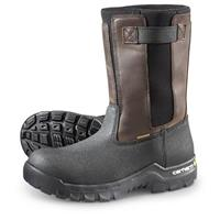Carhartt Rugged Flex Composite Toe Wellington Work Boots, Black/Brown