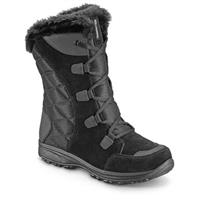 Women's Columbia Ice Maiden II Boots, Waterproof, Lace-up, Black
