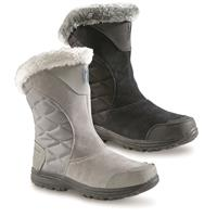 Columbia Women's Ice Maiden II Slip-On Waterproof Boots