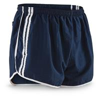 French Military Issue Running Shorts, 10-Pk, New
