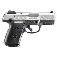"Ruger SR9c MA Compliant, Semi-Automatic, 9mm, 3.40"" Barrel, 10+1 Rounds"