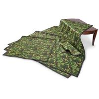"2 Camo 54"" x 72"" Movers' Blankets"