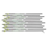 12 Victory V-Force Gamer Carbon Fiber .003 Arrows, .400