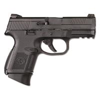 FN FNS-9 Compact, Semi-Automatic, 9mm, No Manual Safety, Night Sights, 12+1/17+1 Rounds