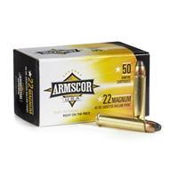 Armscor .22 Magnum Ammo, 40 Grain JHP, 50 Rounds