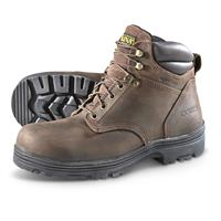 Carolina Men's Waterproof Steel Toe Work Boots, Dark Brown