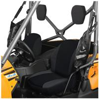 Quad Gear UTV Bucket Seat Covers, Kawasaki TERYX4 Series, Black, Black