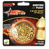 150 Gamo AirStar .177 cal. Air Rifle Hunting Pellets