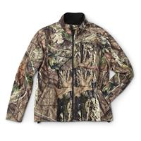 Guide Gear Men's Elite Camo Soft Shell Jacket, Mossy Oak Break-Up Country