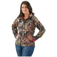 Guide Gear Women's Mossy Oak Break-Up Country Trim Soft Shell Jacket