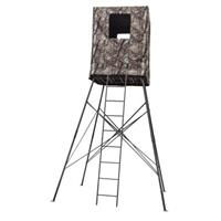 Big Dog 14 foot Guard Tower 2-person Quad Pod Deer Stand with Enclosure, BDT-514