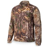 ScentLok Vortex Windproof Fleece Jacket, Realtree Xtra