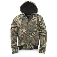 Walls Men's Insulated Hooded Camo Jacket, Mossy Oak Break-Up Infinity