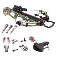 Parker Bows Tornado F4 Perfect Storm Crossbow Package with 3x32mm Scope