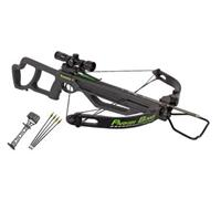 Parker Bows Bushwacker Crossbow Package with 4X Multi-reticle Scope