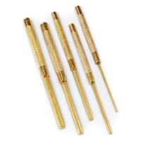 5-Pc. Long Brass Pin Punch Set