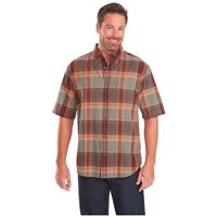 Woolrich Men's Timberline Short Sleeve Shirt, Clay
