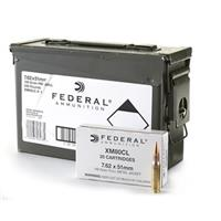Federal .308 149 Grain FMJ Ammo, 240 Rounds (Image photoed is for illustrative purposes only, offer is for Federal .308 Ammo)