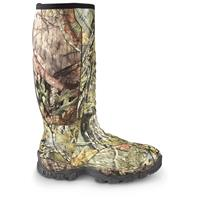 Men's Guide Gear Wood Creek Waterproof Rubber Hunting Boots, Mossy Oak Break-Up COUNTRY