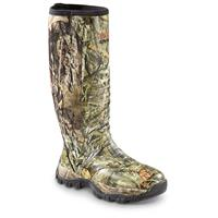 Guide Gear Men's Wood Creek Waterproof Rubber Hunting Boots, Mossy Oak Break-Up Country