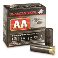 "Winchester, AA Super Sport Sporting Clays Shotshells, 12 Gauge, 2 3/4"" Shell, 1 1/8 oz., 25 Rounds"