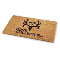 "Bone Collector Coir Doormat, 18""x29.5""L"