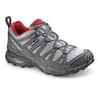 Salomon Men's X Ultra Prime CS Waterproof Hiking Shoes, Pearl Grey
