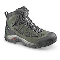 Salomon Men's Authentic LTR CS Waterproof Hiking Boots, Asphalt / Night