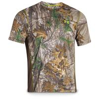 Under Armour Men's Scent Control Camo Nutech Short-sleeved T-shirt, Realtree Xtra