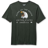 Under Armour Men's Home of the Brave T Shirt, Combat Green