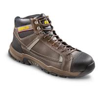 CAT Men's Regulator Steel Toe Work Boots, Brown