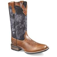 Ariat Men's Quickdraw Kryptek Square Toe Cowboy Boots