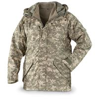 Voodoo Tactical ECW Parka with Fleece Liner, Army Digital