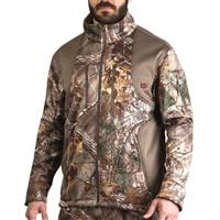 10X Men's Camo Softshell Jacket, Mossy Oak Break-Up Country