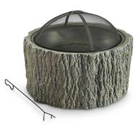CASTLECREEK Stump Fire Pit