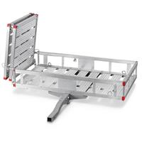 "Guide Gear Aluminum Cargo Carrier with Ramp, 60"" x 32"""