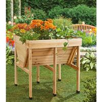 CASTLECREEK Wooden Trough Planter