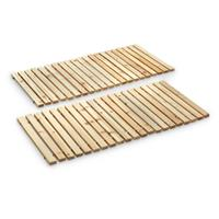 2-Pk. CASTLECREEK Wooden Garden Walkways