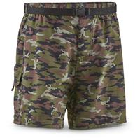 "Guide Gear Men's Cargo River Shorts, 6"" Inseam, Camo"