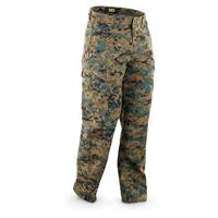HQ ISSUE Men's BDU Pants, Digital Woodland